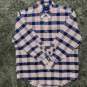 Men's Lands' End Button Down Shirt Size XL